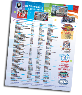 2012 Calendar of Events